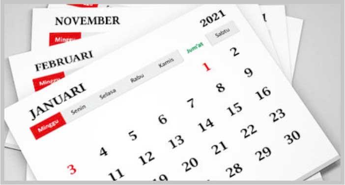 Desain Kalender 2022 CDR